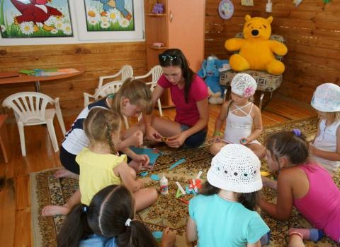 Детская комната с детской анимацией